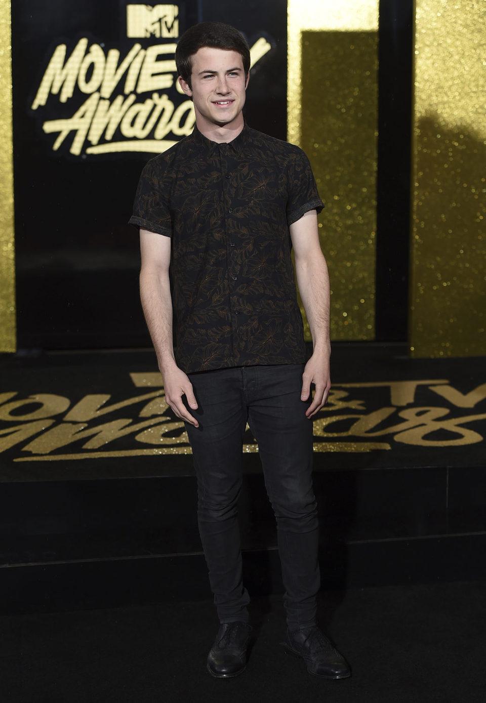 Dylan Minnette en los MTV Movie & TV Awards 2017