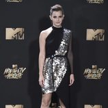 Emma Watson en la alfombra roja de los MTV Movie & TV Awards 2017