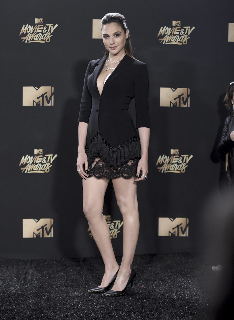Gal Gadot during the MTV Movie & TV Awards 2017