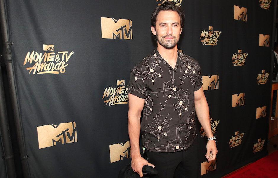 Milo Ventimiglia en los MTV Movie & TV Awards 2017