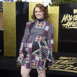 Shannon Purser durante los MTV Movie & TV Awards 2017