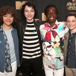 El reparto de 'Stranger Things' en los MTV Movie & TV Awards 2017