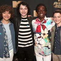 The cast of 'Stranger Things' in the MTV Movie & TV Awards 2017