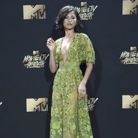 Zendaya during the MTV Movie & TV Awards 2017
