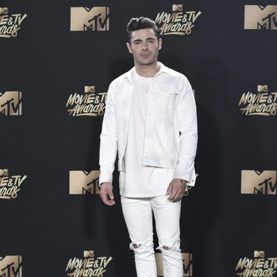 Zac Efron en la gala de los MTV Movie & TV Awards 2017