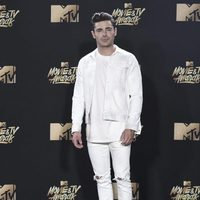 Zac Efron during the 2017 MTV Movie & TV Awards