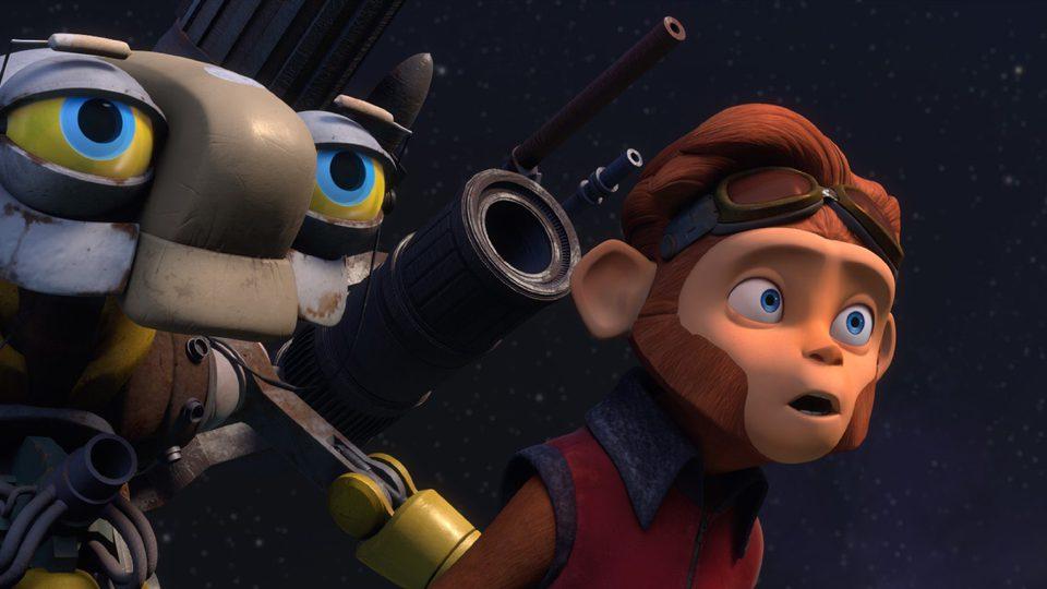 Spark: Una aventura espacial, fotograma 4 de 11