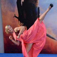 Jessie Graff en la premiere de 'Wonder Woman'