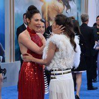 Gal Galdot y Elena Anaya en la premiere de 'Wonder Woman'