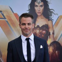 Chris Pine en la premiere de 'Wonder Woman'
