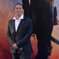 Eugene Brave Rock  en la premiere de 'Wonder Woman'
