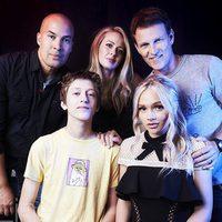El reparto de 'The Gifted' posa en la Comic-Con