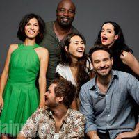 Los protagonistas de 'The defenders' en la Comic-Con