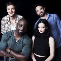 El reparto de 'Marvels Defenders' en la Comic-Con