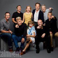 El reparto de 'Twin Peaks' posa en la Comic-Con