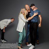 El equipo de 'Vikingos' en la Comic-Con