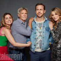 El reparto de 'Blade Runner: 2049' posa en la Comic-Con 2017