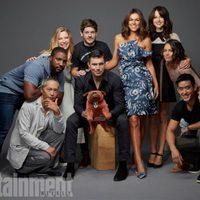El reparto de 'Inhumanos' en la Comic-Con