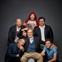 El equipo de 'Ready Player One' posa en la Comic-Con 2017