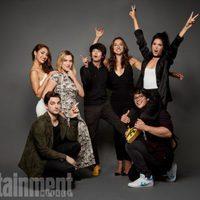 Los protagonistas de 'Los 100' en la Comic-Con