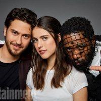 Los protagonistas de 'Death Note' posan en la Comic-Con