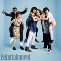 El reparto de 'IT' posa en la Comic-Con