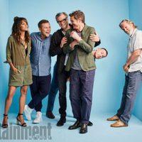 Los protagonistas de 'Kingsman: El círculo de oro' en la Comic-Con