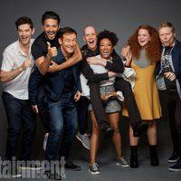El reparto de 'Star Trek: Discovery' posa durante la Comic-Con 2017