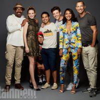 El reparto de 'The Flash' posa durante la Comic-Con 2017