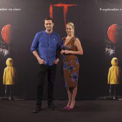 Andy Muschietti y Barbara Muschietti en la presentación de ?It? en Madrid