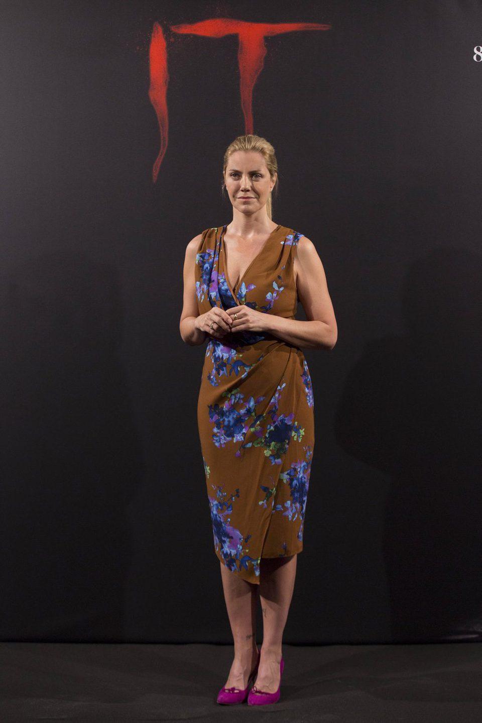 Barbara Muschietti en la presentación de 'It' en Madrid