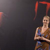 Barbara Muschietti posa sin nadie más en la presentación de 'It' en Madrid