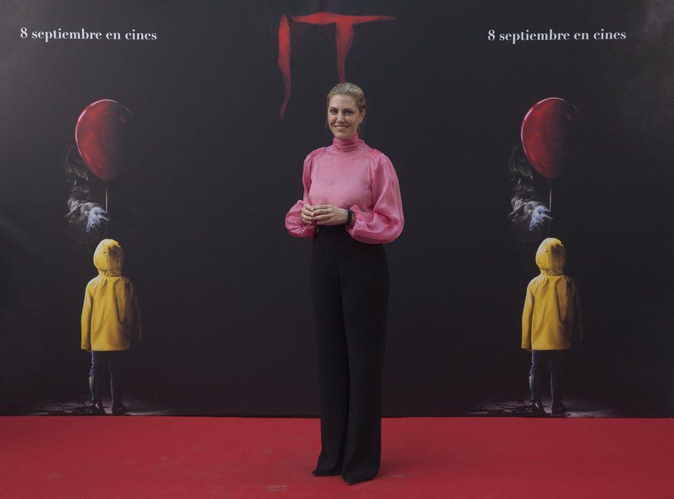 Barbara Muschietti posa fabulosa en la presentación de 'It' en Madrid