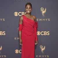 Issa Rae at the Emmy 2017 red carpet