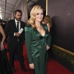 Samantha Bee en la alfombra roja de los Emmy 2017