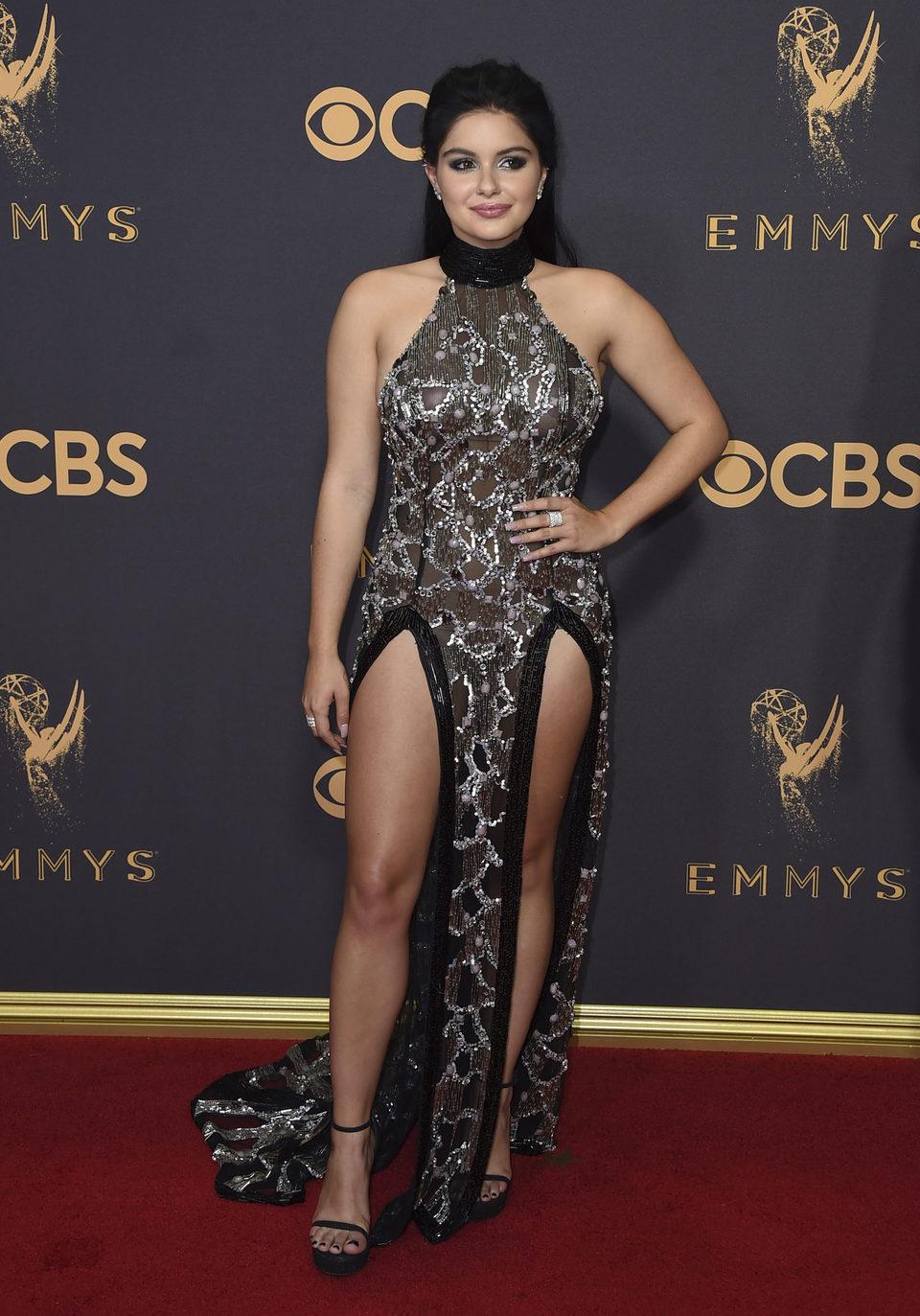 Ariel Winter en la alfombra roja de los Emmy 2017