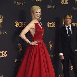 Nicole Kidman en la alfombra roja de los Emmy 2017