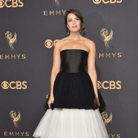 Mandy Moore at the Emmys 2017 red carpet