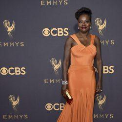 Viola Davis en la alfombra roja de los Emmy 2017