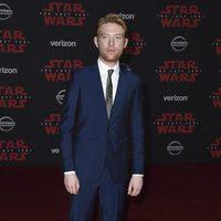 Domhall Gleeson en la premiere de 'Star Wars: Los últimos Jedi'