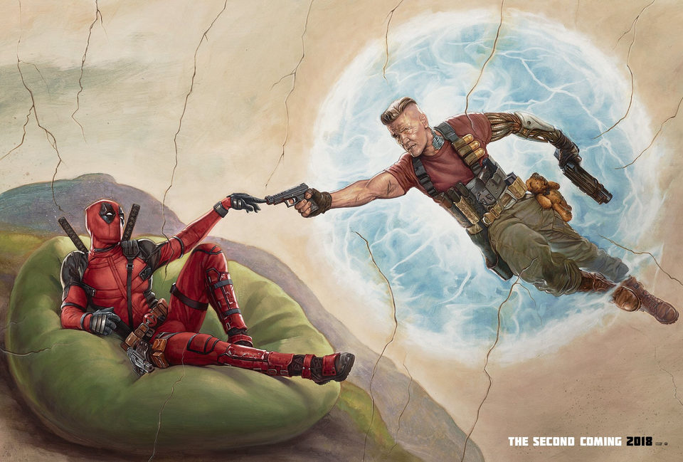Deadpool 2, fotograma 1 de 16