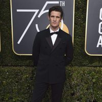 Matt Smith at the red carpet of the Golden Globes 2018