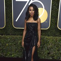 Kerry Washington at the Golden Globe's red carpet 2018