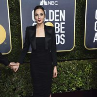 Gal Gadot at the red carpet of the Golden Globes 2018
