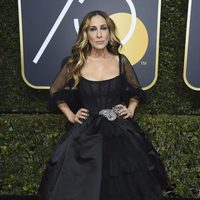 Sarah Jessica Parker at the Golden Globes 2018 red carpet