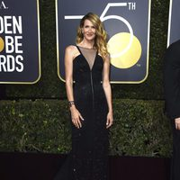 Laura Dern at the Golden Globes 2018 red carpet