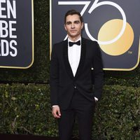 Dave Franco at the Golden Globe's red carpet 2018