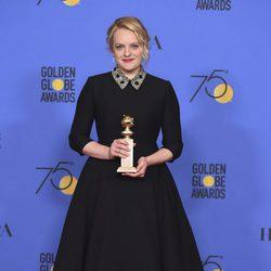Elisabeth Moss gana el Globo de Oro 2018 como Mejor Actriz de Tv - Drama
