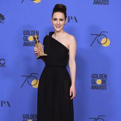 Rachel Brosnahan gana el Globo de Oro 2018 como Mejor Actriz de Tv - Comedia o Musical