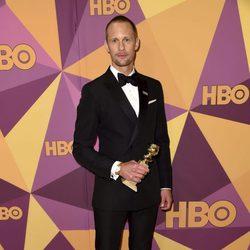 Alexander Skarsgård gana el premio a mejor actor de reparto en los Globos de Oro 2018